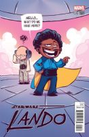 Star Wars: Lando #1 (of 5) - Skottie Young Variant Cover